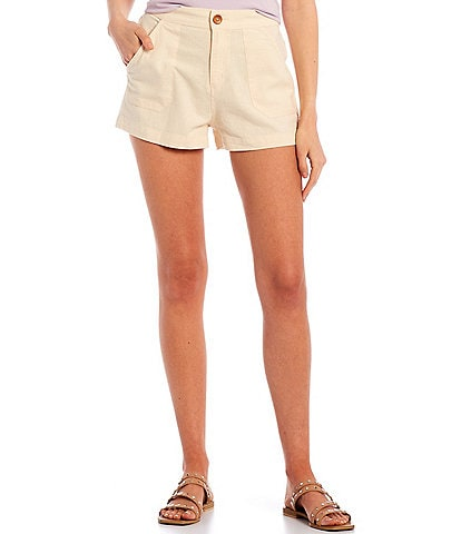 Roxy Oceanside High Waist Shorts