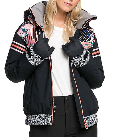 Roxy Pop Snow Meridian Snow Ski Jacket