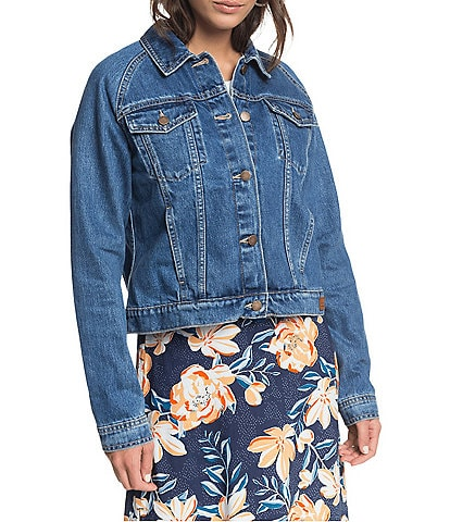 Roxy Road To Somewhere Denim Jacket