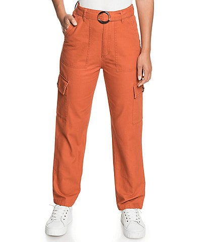 Roxy Sense Yourself Belted Cargo Pants