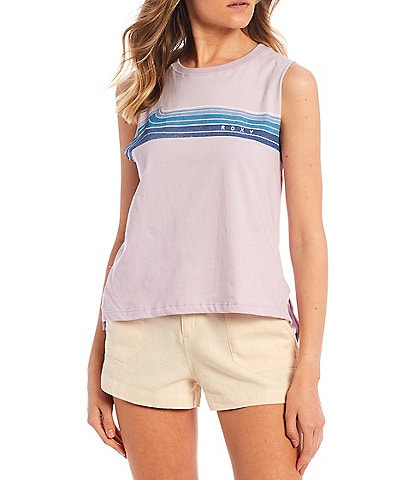 Roxy Wavey Stripe Tank