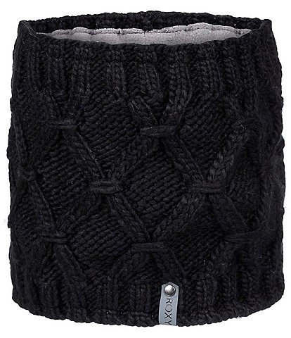 Roxy Winter Cable-Knit Snow Collar