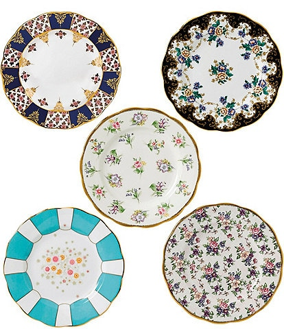 Royal Albert 100 Years 1900-1940 5-Piece Plate Set