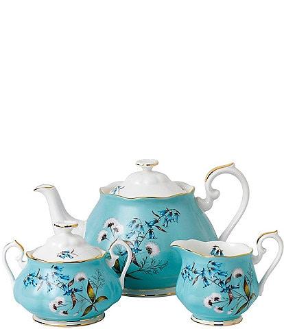 Royal Albert 100 Years 1950 Festival 3-Piece Tea Set
