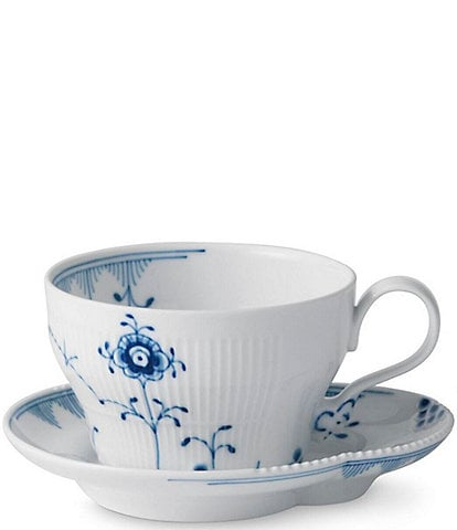 Royal Copenhagen Blue Elements Teacup & Saucer Set