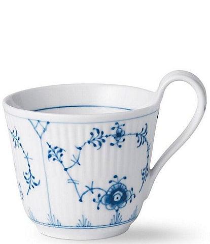 Royal Copenhagen Blue Fluted Plain Collection High Handle Mug
