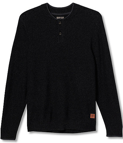 Royal Robbins Faroe Island Merino Wool Long-Sleeve Henley Sweater