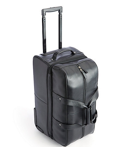 ROYCE New York Executive Rolling Duffel Bag Suitcase