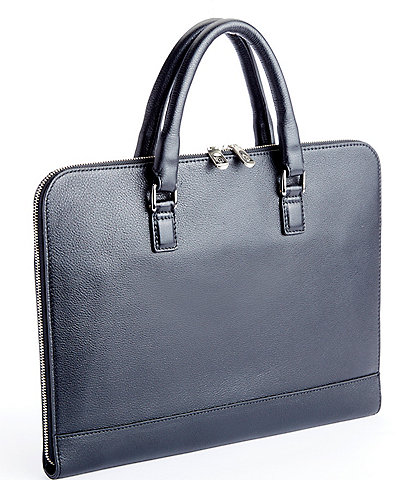 ROYCE New York Leather 13#double; Laptop Briefcase