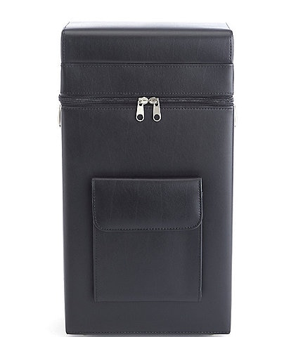 ROYCE New York Leather Connoisseur Wine Carrier