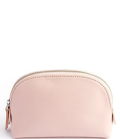 ROYCE New York Leather Small Cosmetic Bag