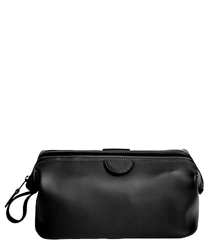 ROYCE New York Leather Deluxe Toiletry Bag