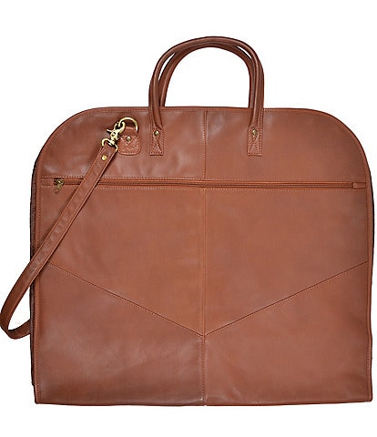 ROYCE New York Leather Garment Bag
