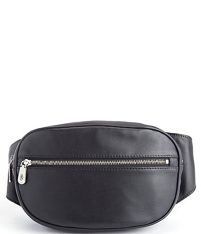 ROYCE New York Leather Hip Pack Belt Bag