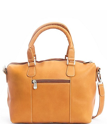 ROYCE New York Leather Luxury Travel Weekender Duffel Bag