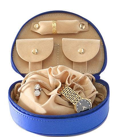 ROYCE New York Leather Mini Jewelry Case