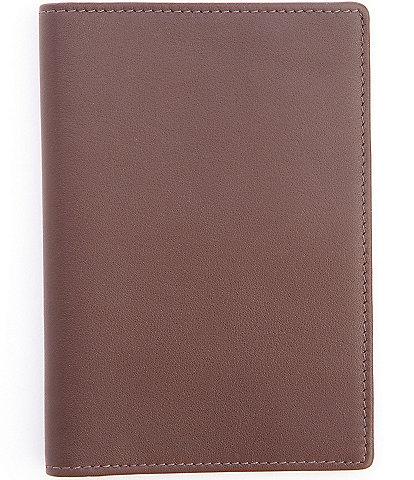 ROYCE New York Leather Plain Passport Jacket