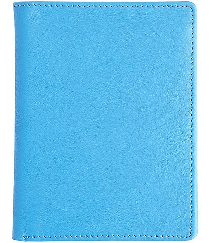 ROYCE New York Leather RFID Blocking Passport Currency Wallet