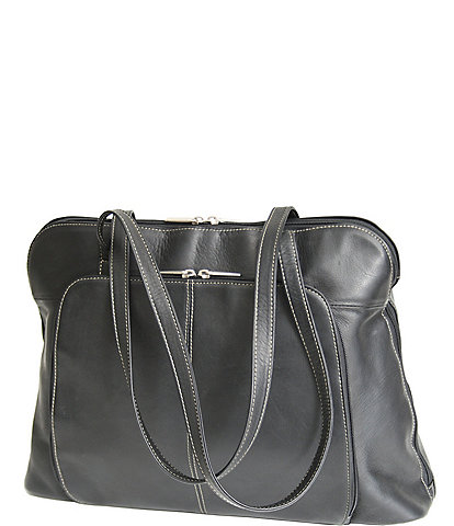 ROYCE New York Leather Vaquetta Nappa Ladies' Tote Bag