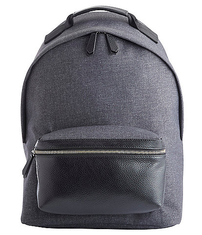 ROYCE New York Mixed Media 13#double; Laptop Backpack
