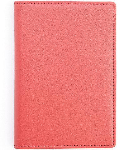 ROYCE New York RFID Blocking Leather Passport Wallet