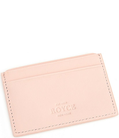 ROYCE New York RFID Executive Slim Credit Card Case