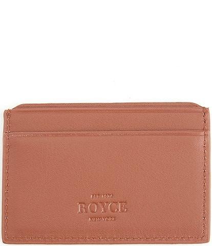 ROYCE New York RFID Executive Slim Credit Card Case