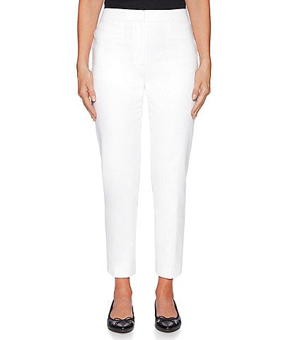 Ruby Rd. FF Double Face Stretch Ankle Pants