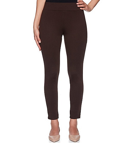 Ruby Rd. Petite Size Ponte Knit Pull-On Leggings