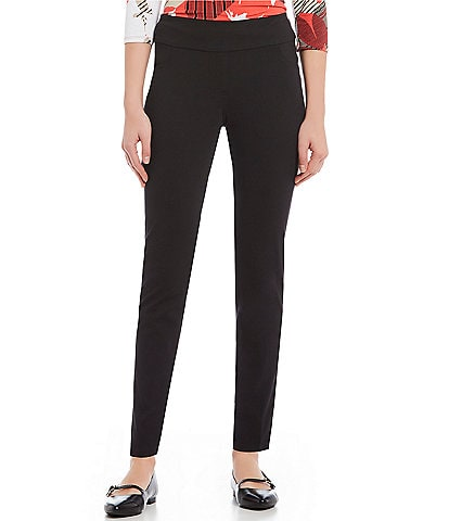 Ruby Rd. Petite Size Pull-On Knitted Twill Pants