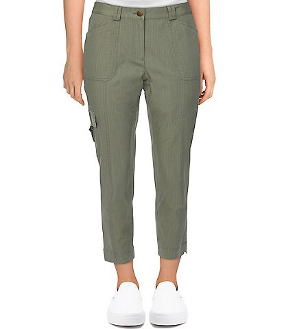 Ruby Rd. Petite Size Soft Ripstop Cargo Ankle Pants
