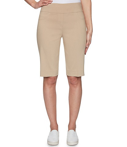 Ruby Rd. Petite Size Solar Millennium Pull-On Shorts