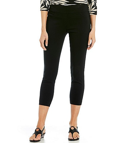 Ruby Rd. Petite Size Solar Millennium Tech Pull-On Ankle Pants