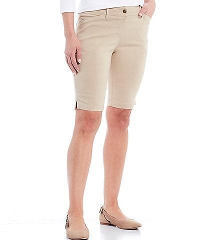 Ruby Rd. Petite Size FF Solar Millennium Tech Shorts