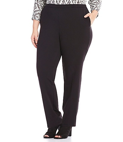 Ruby Rd. Plus Pull-On French Terry Pants
