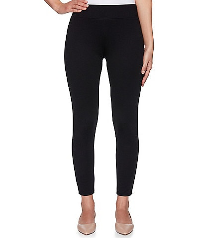 Ruby Rd. Ponte Pull-On Ankle Leggings