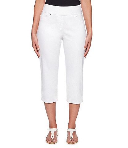 Ruby Rd. Pull-On Extra Stretch Denim Cropped Capri