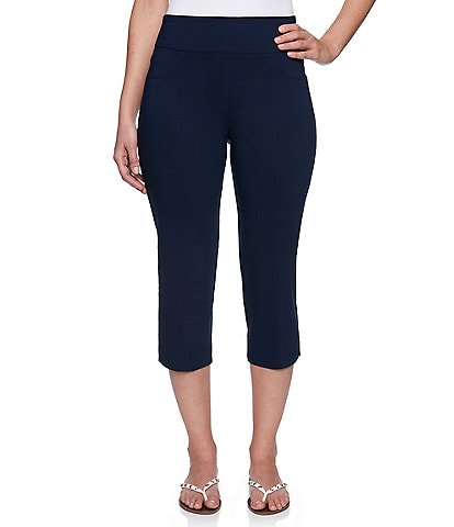 Ruby Rd. Pull-On Solar Millennium Cropped Capri