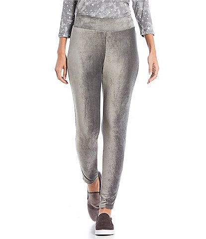 Ruby Rd. Pull-On Stretch Corduroy Knit Ankle Pants