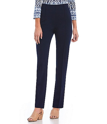 Ruby Rd. Pull-On Stretch Ponte Pants