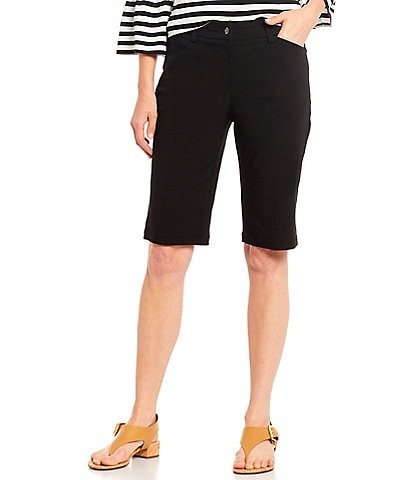 Ruby Rd. Solar Millenium Stretch Tech Bermuda Shorts