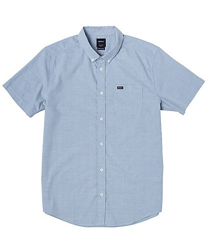 RVCA Big Boys 8-20 Short-Sleeve Oxford Shirt