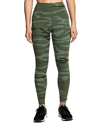 RVCA DPM Sport Camouflage-Printed Leggings