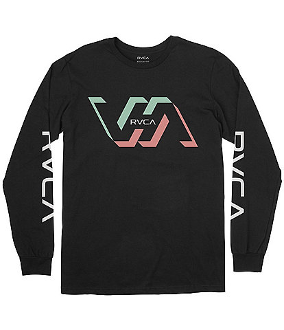 RVCA Facets Long-Sleeve Graphic T-Shirt