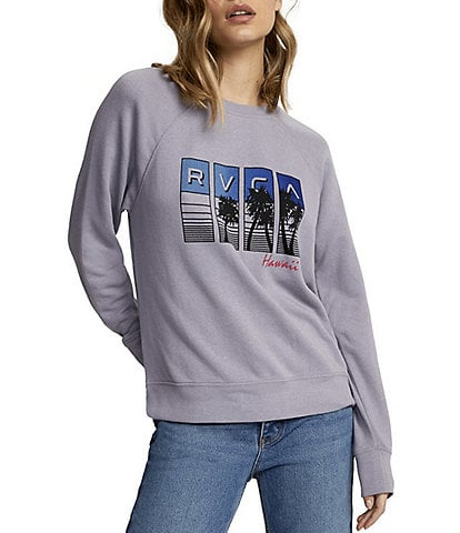 RVCA Hawaii Throwback Fleece Sweatshirt