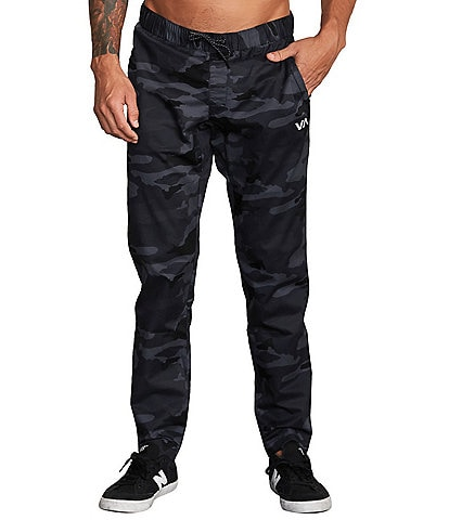 RVCA Slim Fit Spectrum III Camo Printed Jogger Pants