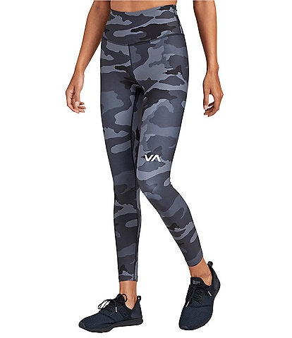 RVCA Sport Camouflage-Printed Leggings