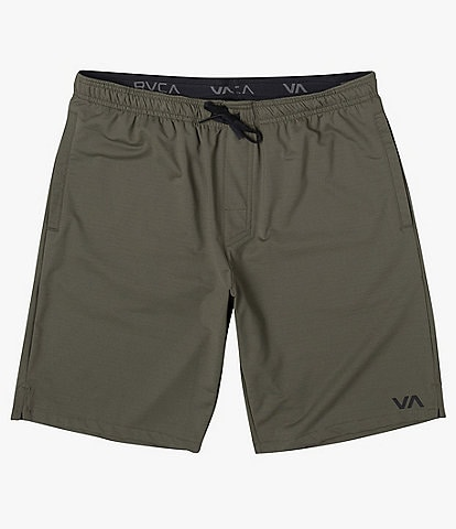 RVCA Trainer Solid 17#double; Outseam Performance Walkshorts