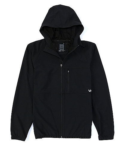 RVCA VA Sport Yogger Long-Sleeve Zip-Front Jacket