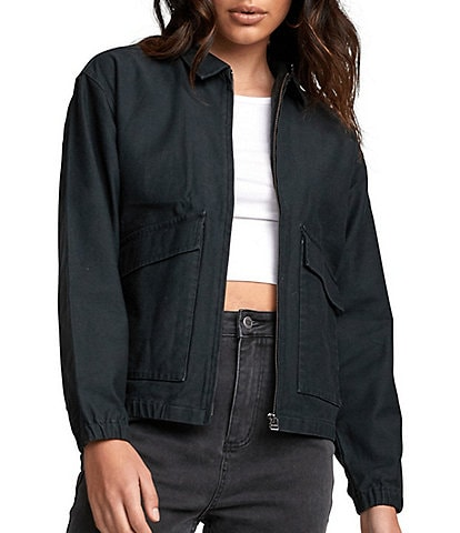 RVCA Viber Washed Jacket